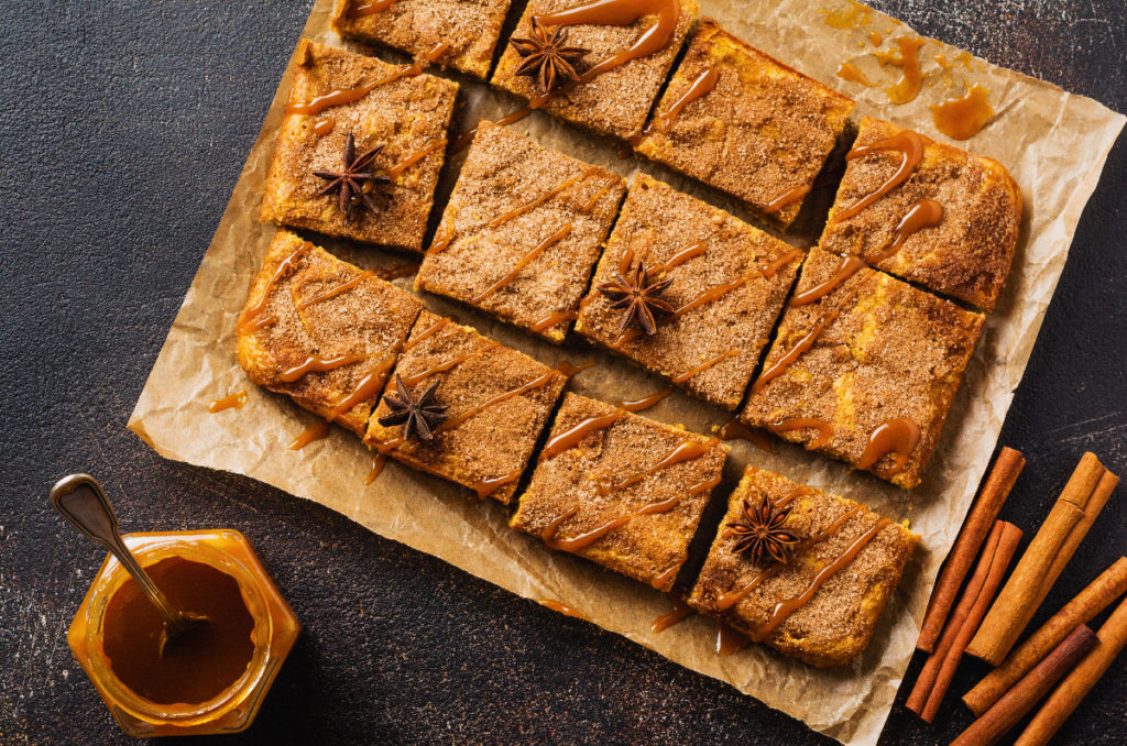 Pumpkin Blondie Squares Wallaces Bettendorf Iowa