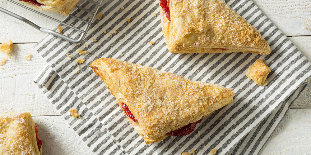 cranberry brie turnover